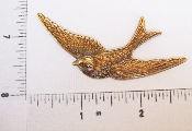 (Package Of 12) Large Flying Bird (Brass Ox)