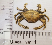 (Package Of 12) Large Crab - N/R (Brass Ox)