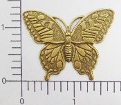 "(Package Of 12) 1-3/4"" Victorian Butterfly (Brass Ox)"