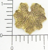 (Package Of 12) Water Lily Leaf (Brass Ox)