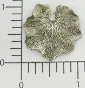 (Package Of 12) Water Lily Leaf (Matte Silver Ox)