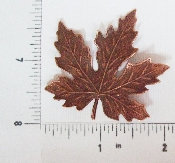 (Package Of 12) Large Maple Leaf (Copper Ox)