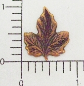 (Package Of 12) Sm. Maple Leaf - NR (Copper Ox)