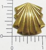 (Package Of 12) Pleated Angel Dress/Skirt (Brass Ox)