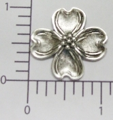 "(Package Of 12) 1"" Dogwood NR (Matte Silver Ox)"