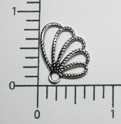 (Package of 12) Angel Wing (Matte Silver Ox)