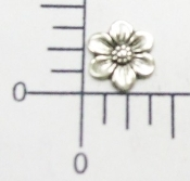 (Package of 12) Small Flower NR (Matte Silver Ox)