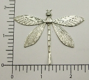 (Package Of 12) Large Dragonfly NR (Matte Silver)