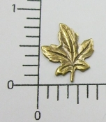 (Package of 12) Small Leaf NR (Brass Ox)