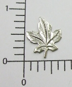 (Package of 12) Small Leaf NR (Matte Silver)