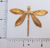 "(Package Of 12) 2"" Large Dragonfly (Brass Ox)"