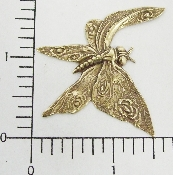 "(Package Of 12) 1-1/2"" Butterfly w/Folded Wing (Brass Ox)"