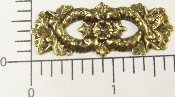 (Package Of 12) Ornate Victorian Cutout Bar (Brass Ox)