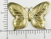 "(Package Of 12) 2"" Solid Butterfly (Brass Ox)"