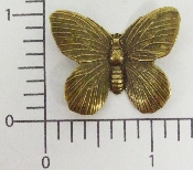 "(Package Of 12) 1-1/4"" Butterfly N/R (Brass Ox)"