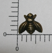 "(Package Of 12) 5/8"" Small Bee N/R (Brass Ox)"