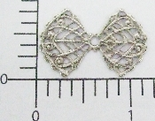 "(Package Of 12) 1-1/4"" Winglike Filigree (Matte Silver Ox)"