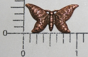 "(Package Of 12) 1"" x 1/2"" Butterfly N/R (Copper Ox)"