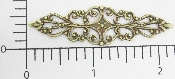"(Package Of 12) 2-1/4"" X 1/2"" FILIGREE (Brass Ox)"