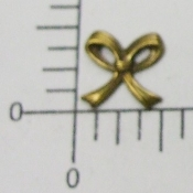 (Package of 12) Small Bow NR (Brass Ox)