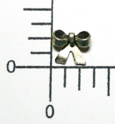 (Package of 12) Small Bow NR (Matte Silver Ox)