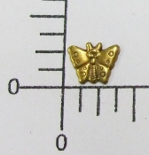 (Package Of 12) Tiny Butterfly - NR (Brass Ox)