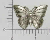 "(Package Of 12) 1-1/2"" Solid Butterfly NR (Matte Silver)"