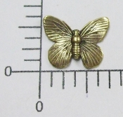 Brass Oxidized Victorian Butterfly Jewelry Finding (12)