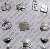 92000 - Wedding Jewelry Findings/Blister Card Matte Silver Ox